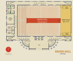 Camelot Convention Center floor plan